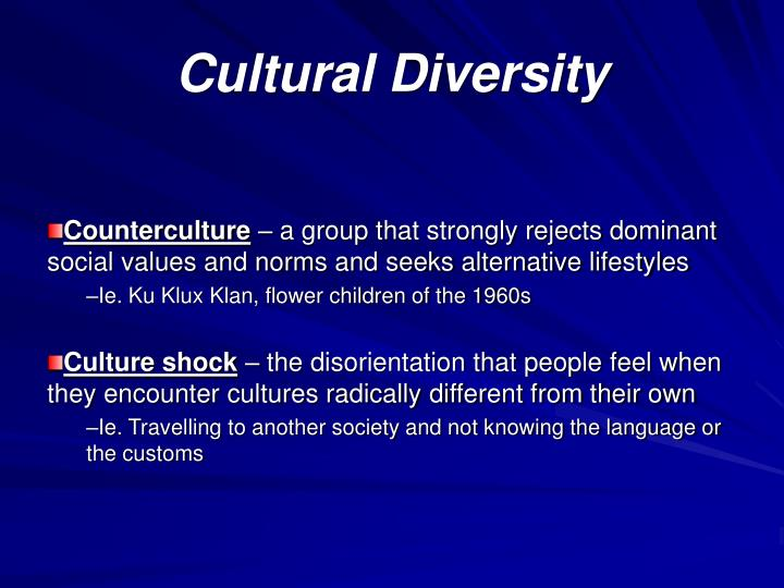 Cultural diversity2