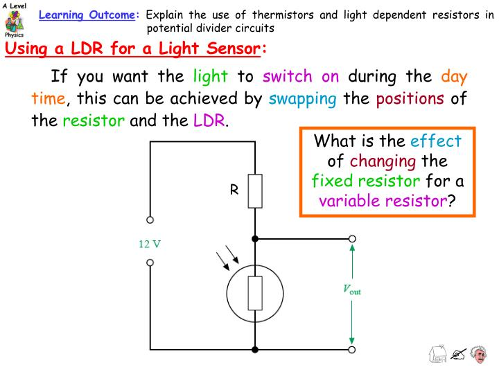 Colorful What Is A Ldr Component - Schematic Diagram Series Circuit ...