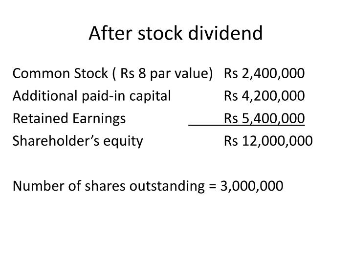 Liquidating dividend definition 4th