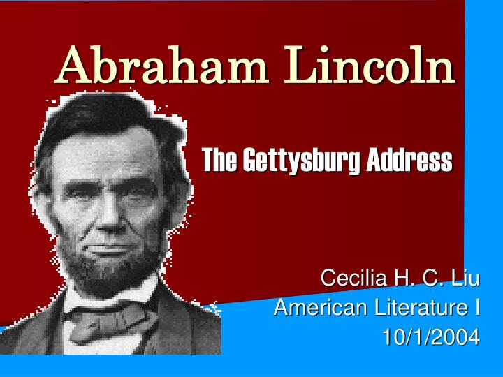 abraham lincoln address the nation through rhetorical language