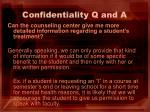 confidentiality q and a5