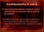 confidentiality q and a7