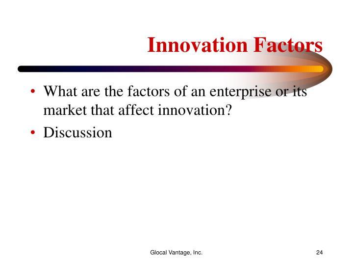 Innovation Factors