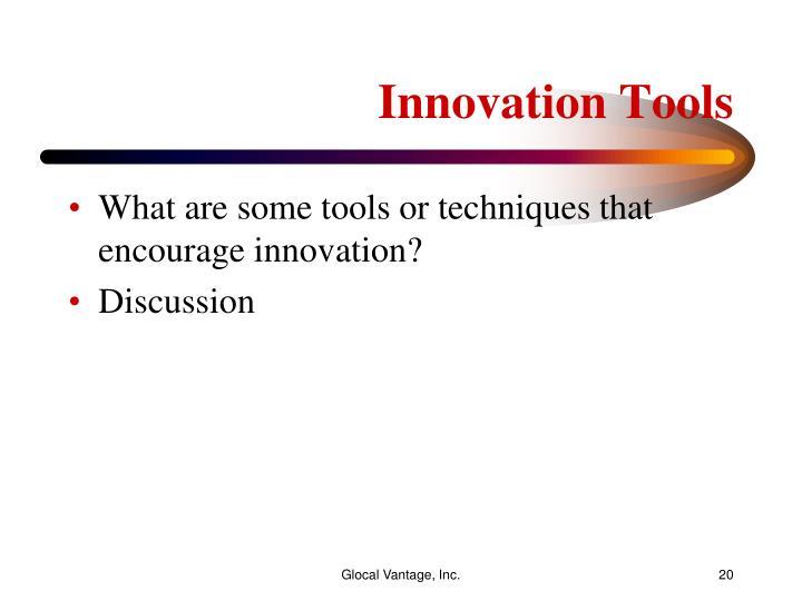 Innovation Tools
