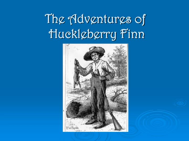 a character analysis in the adventure of huckleberry finn
