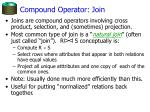 compound operator join