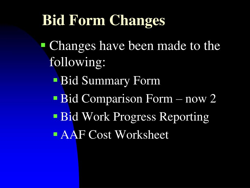 Ppt Bidding Powerpoint Presentation Free Download Id 1820944