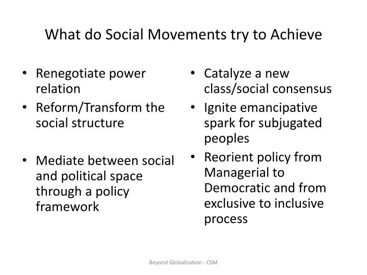 "old and new social movements essay 2 social changes and social movements 33 21 social structure, political cleavages, and collective action 36 22 states, markets, and social movements 42  and reflective of, the experience of the ""new social movements"": that is to say, the movements which had developed since the late 1960s on issues such as women's rights, gender."