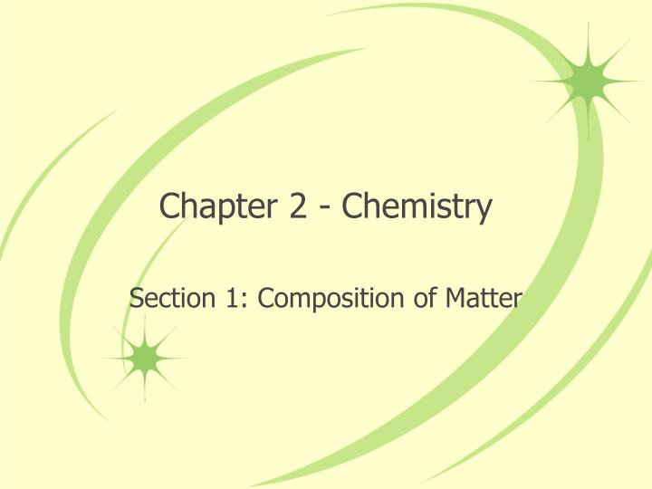 chapter 2 chemistry n.