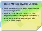 jesus attitude towards children1
