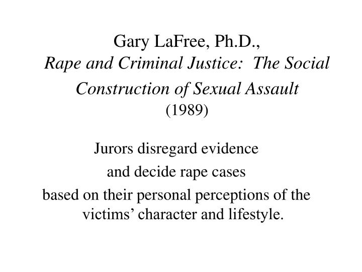 sexual assault argumentative essay Sexual assault definition and army policy definition of sexual assault sexual assault refers to offenses of a sexual nature committed without the lawful consent of the victim sexual assault includes rape, forcible sodomy, indecent assault, and carnal knowledge as defined by articles 120, 125, and 134 of the uniform code of military justice (ucmj.
