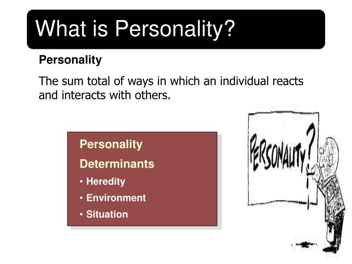 what is personality Personality refers to a distinctive set of traits, behavior styles, and patterns that make up our character or individuality how we perceive the world, our attitudes.