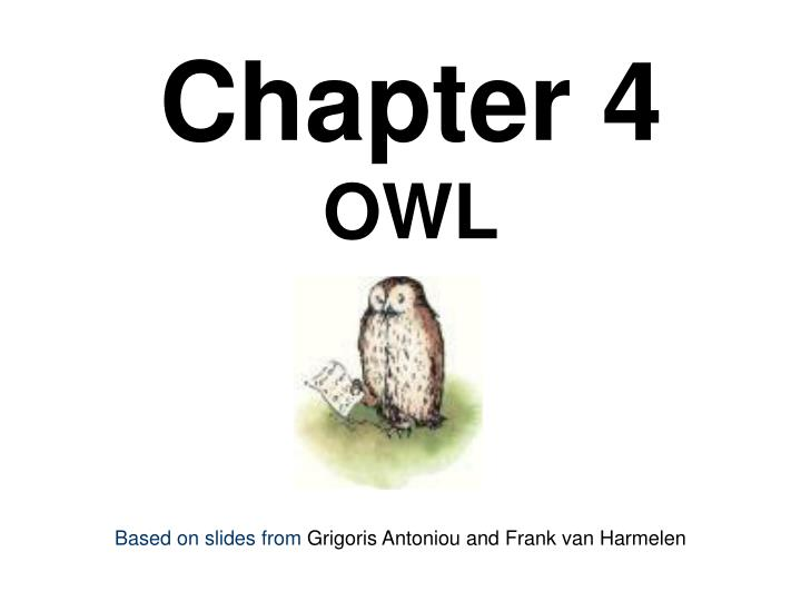 chapter 4 owl n.