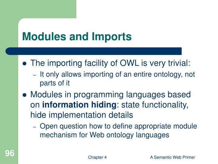 Modules and Imports