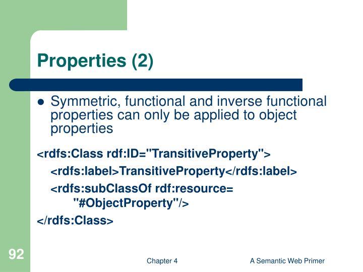 Properties (2)