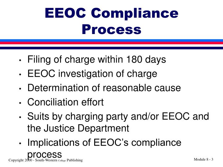 EEOC Compliance Process