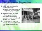 usa s economic depression