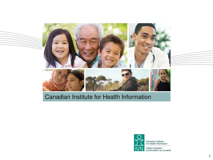 canadian institute for health information n.