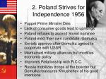 2 poland strives for independence 1956