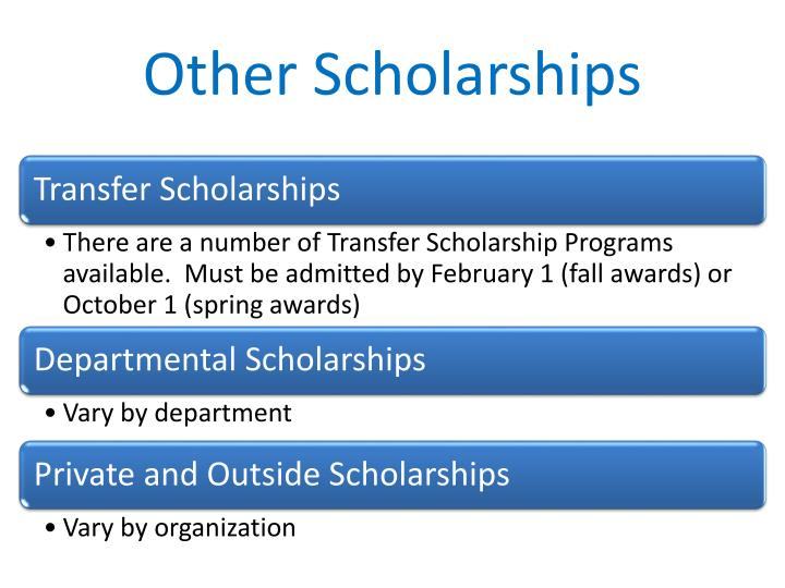 Other Scholarships