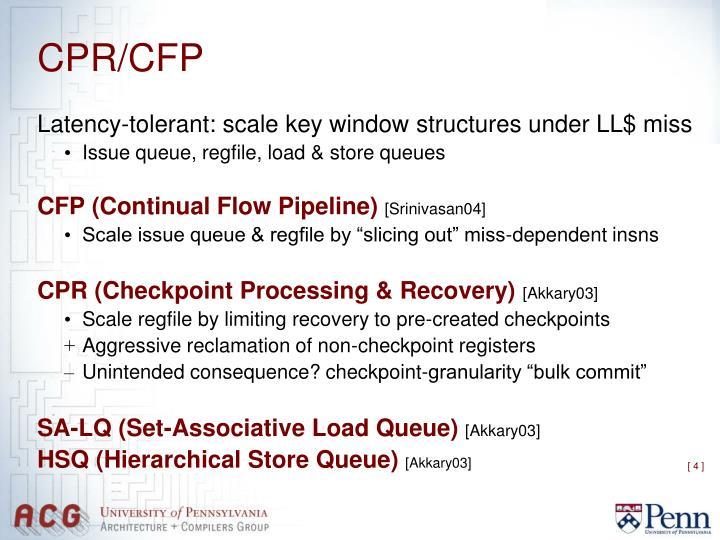 CPR/CFP