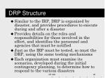 drp structure