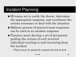 incident planning1