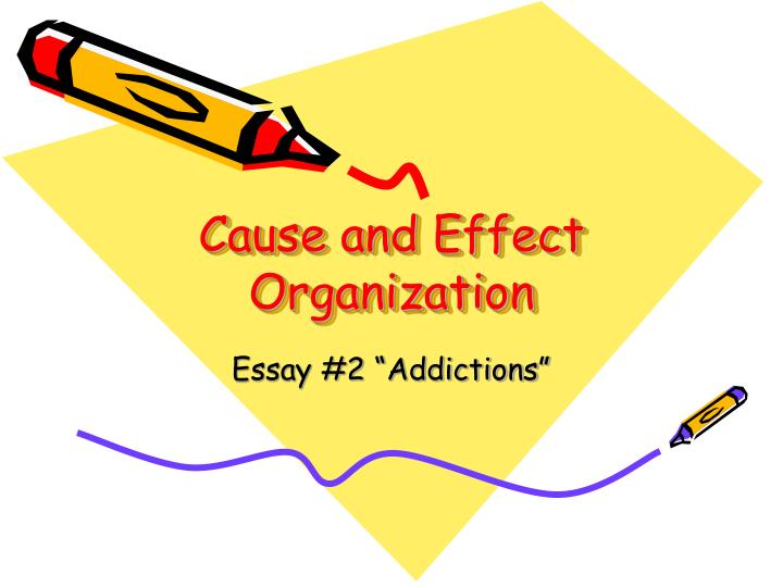 cause and effect organization n.