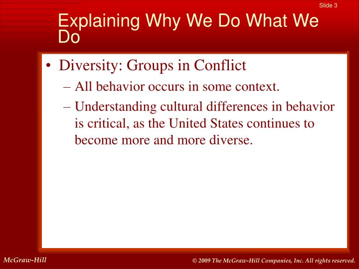 understanding cultural diversity in all settings