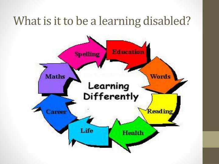 categories of learning disabilities Other types of learning disabilities and disorders reading, writing, and math aren't the only skills impacted by learning disorders other types of learning disabilities involve difficulties with motor skills (movement and coordination), understanding spoken language, distinguishing between sounds, and interpreting visual information.