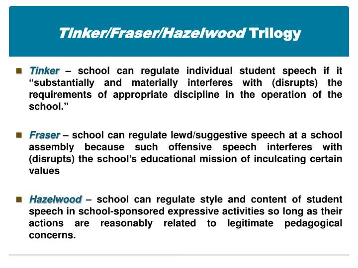 Tinker/Fraser/Hazelwood