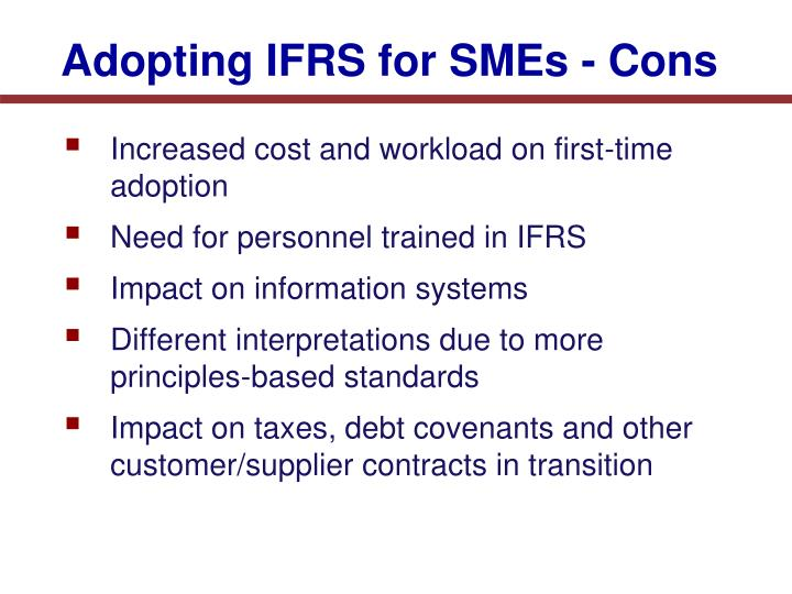 a guide to ifrs for smes Product information all categories: ifrs books ifrs for this official pronouncement incorporates the may 2015 amendments to the ifrs for smes.