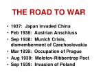 the road to war1