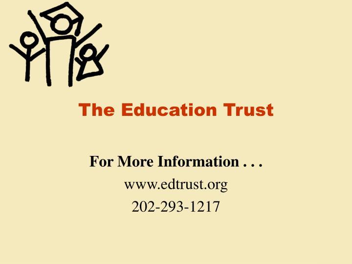 The Education Trust