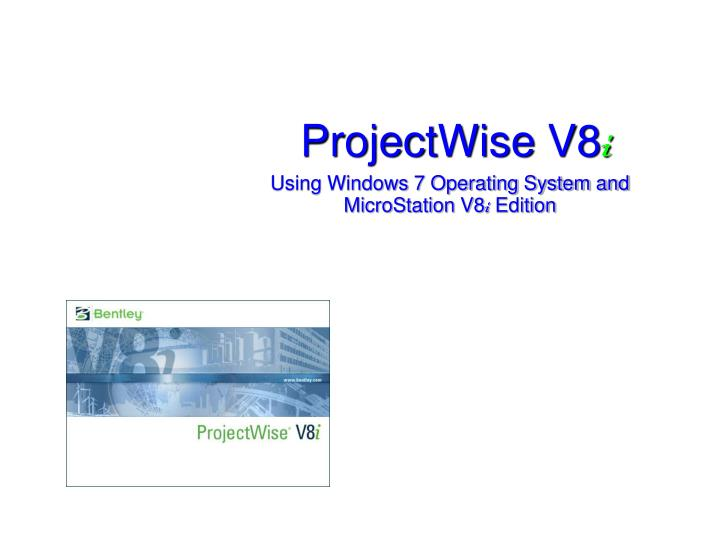projectwise v8 i n.