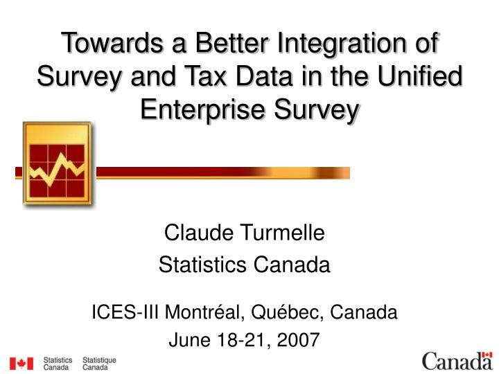 towards a better integration of survey and tax data in the unified enterprise survey n.