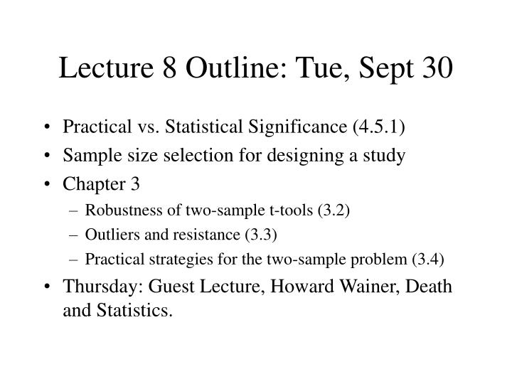 lecture 8 outline tue sept 30 n.