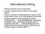 international linking
