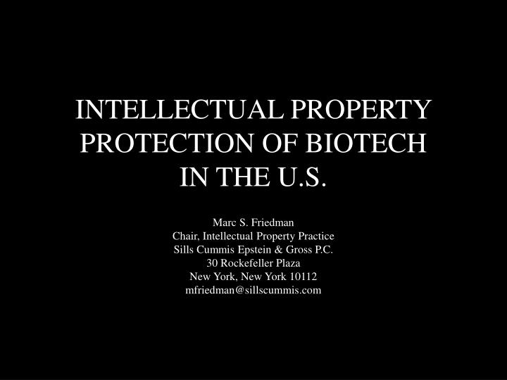 Protection Of Intellectual Property Rights Ppt