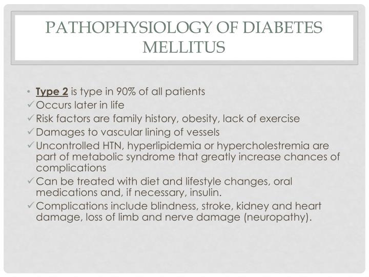 Pathophysiology of Diabetes Mellitus