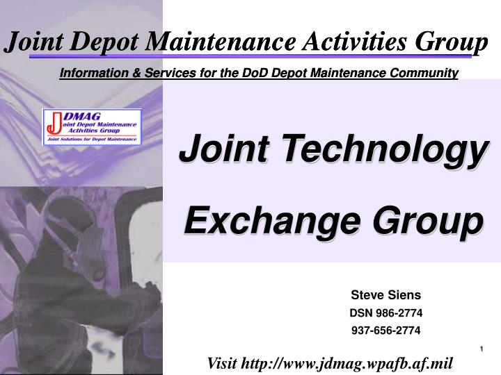 joint technology exchange group n.