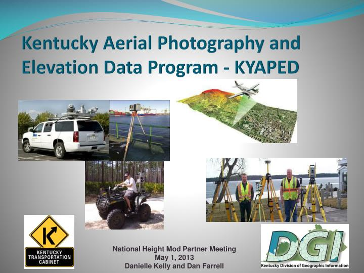 kentucky aerial photography and elevation data program kyaped n.