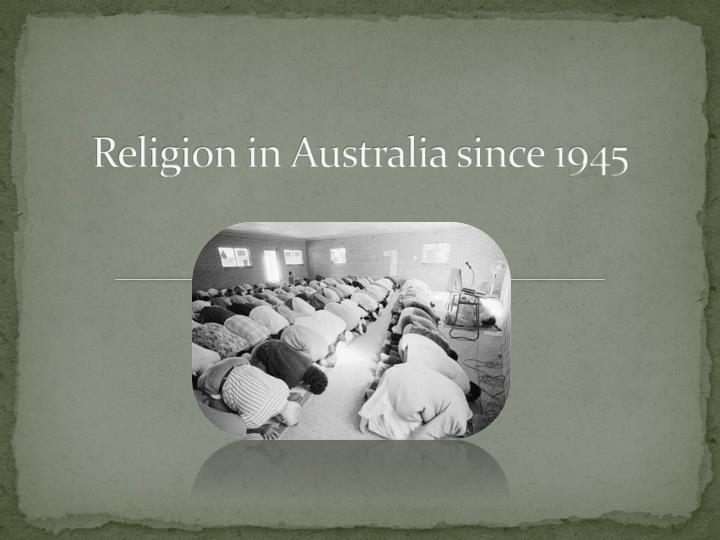 impact of christianity in australia essay