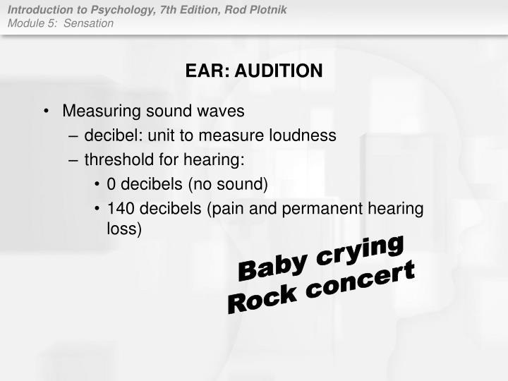 EAR: AUDITION