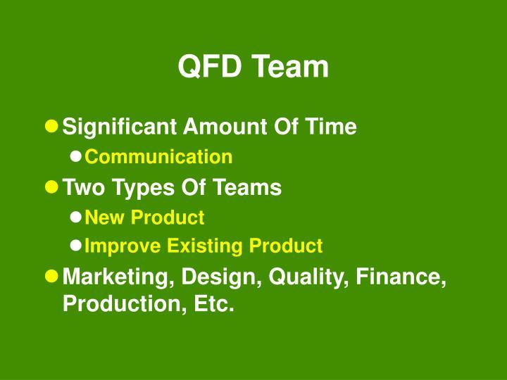 QFD Team