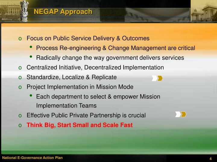 NEGAP Approach