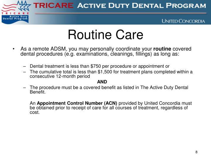 Routine Care