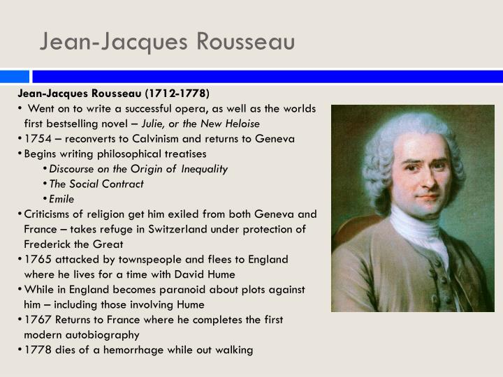 an analysis of religion in society by jean jacques rousseau Profession of faith of the savoyard vicar by jean-jacques  faith of the savoyard vicar by jean-jacques rousseau  rousseau is constructing an analysis to find.