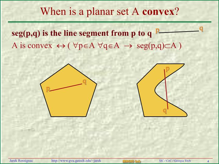 When is a planar set A