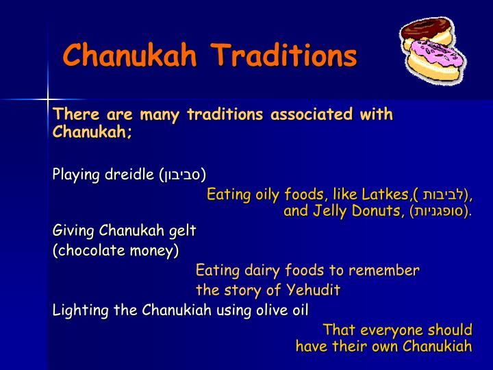 Chanukah Traditions